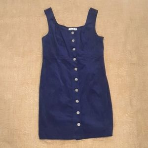NWT Corduroy Ally Size 10 deadstock pinafore Navy